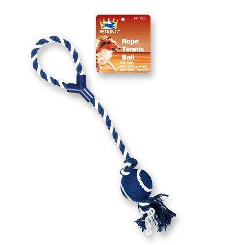 Rope Tug w/ Tennis Ball