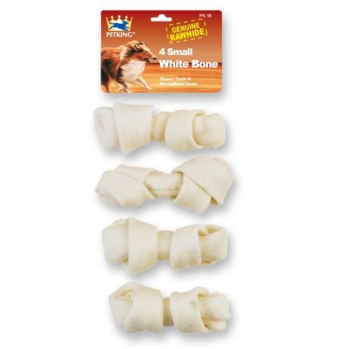 Small White Rawhide Bones