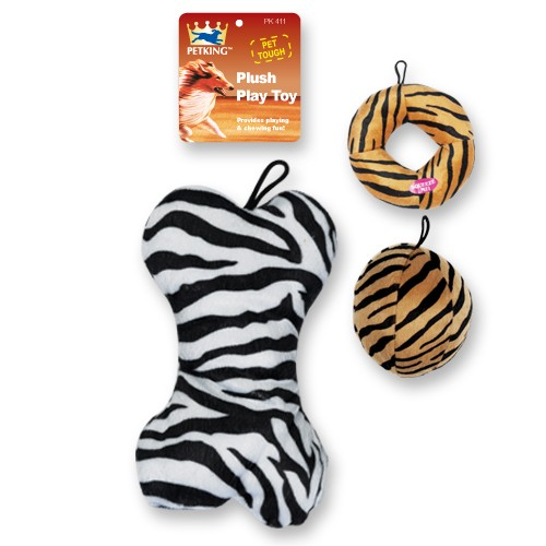 Animal Print Chew Toy