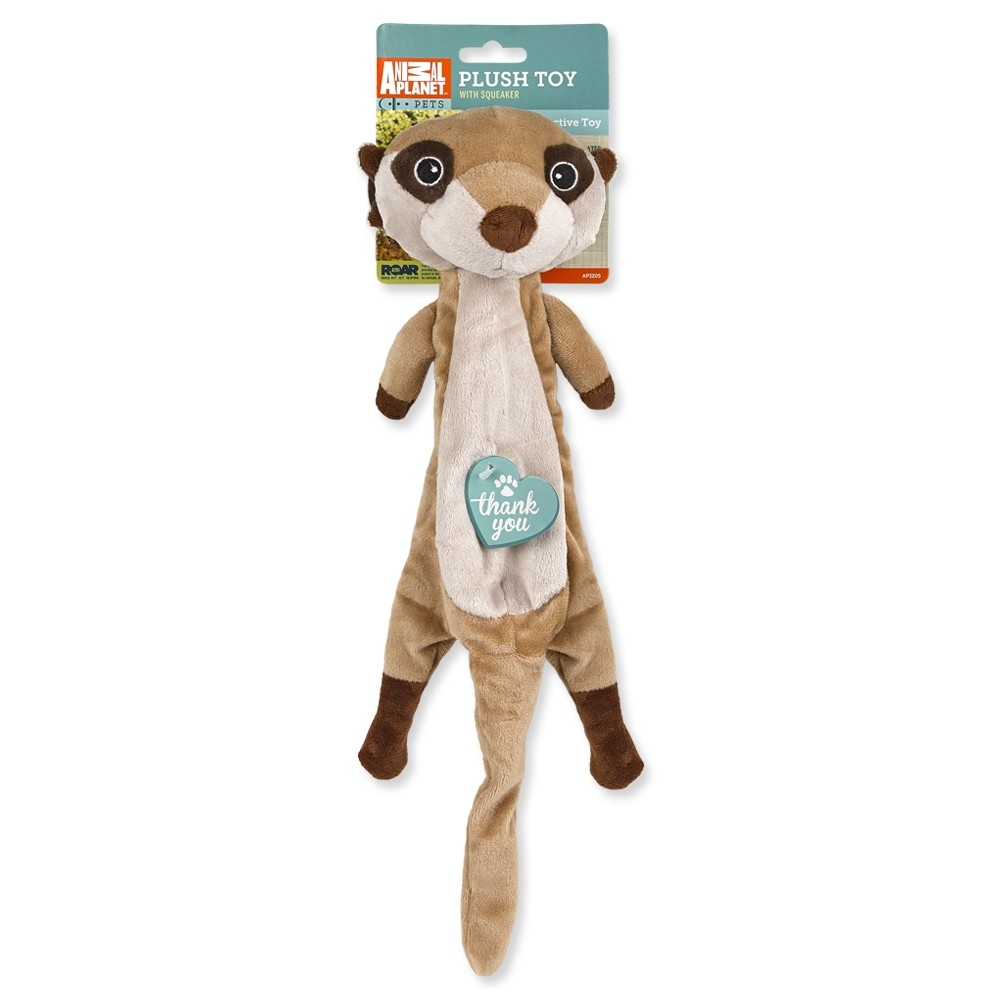 Plush Toy with Squeaker